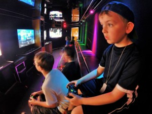Video game truck for large event entertainment in Birmingham Alabama